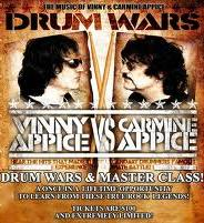 Drum Wars. Carmine Appice and Vinny Appice. Битва Барабанщиков