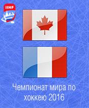 Хоккей Канада - Франция