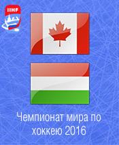 Хоккей Канада - Венгрия