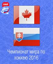 Хоккей Канада - Словакия