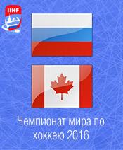 Хоккей Россия - Канада