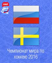 Хоккей Россия - Швеция