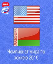 Хоккей США - Белоруссия