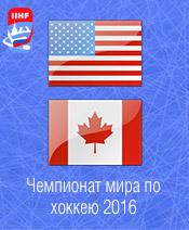 Хоккей США - Канада