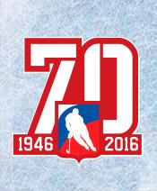 Матч в честь 70-летия хоккея