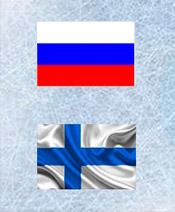 Хоккей Россия - Финляндия